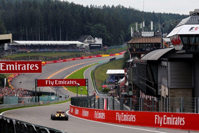 GALERI FOTO: Aksi Sean dan Nato di F2 GP Belgia