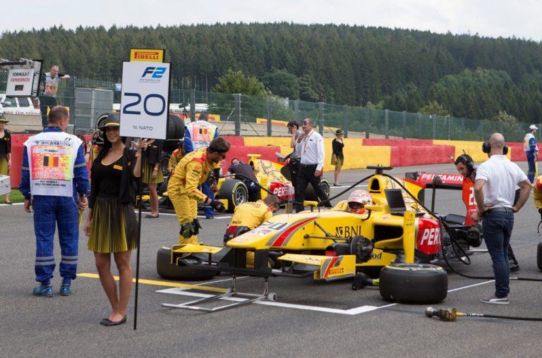 GALERI FOTO: Aksi Sean dan Nato di F2 GP Belgia Bagian 1