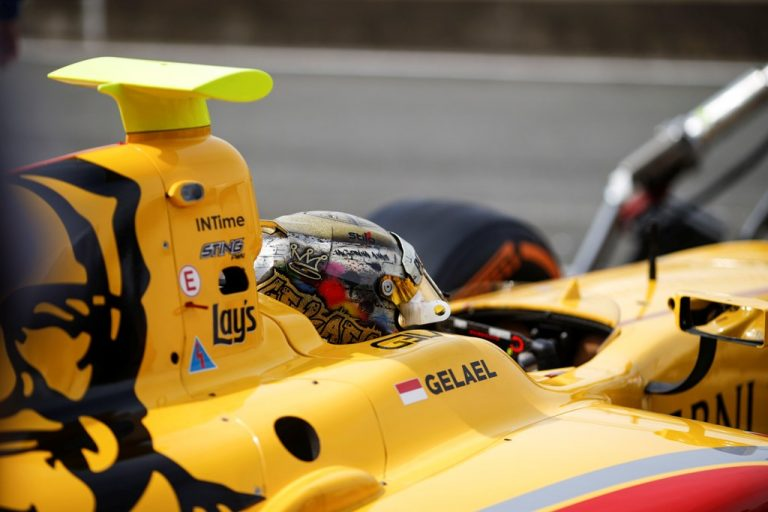 Galeri Foto F2 GP Inggris