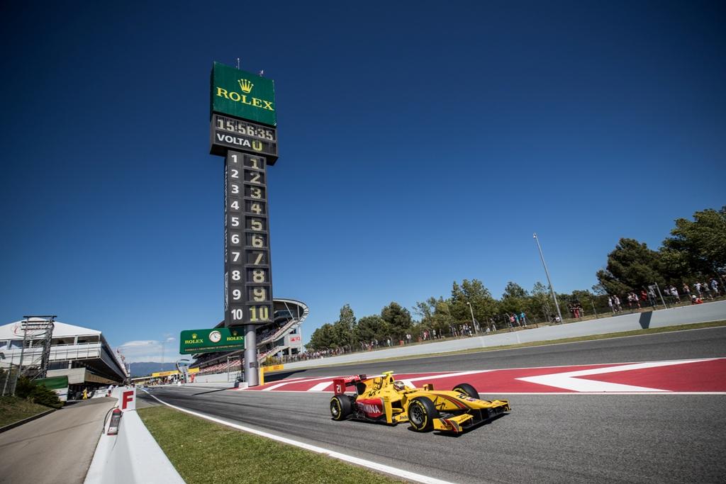 FIA F2 Race – Barcelona